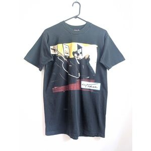 Vintage 90s Trace Adkins Singer Black Graphic Tee